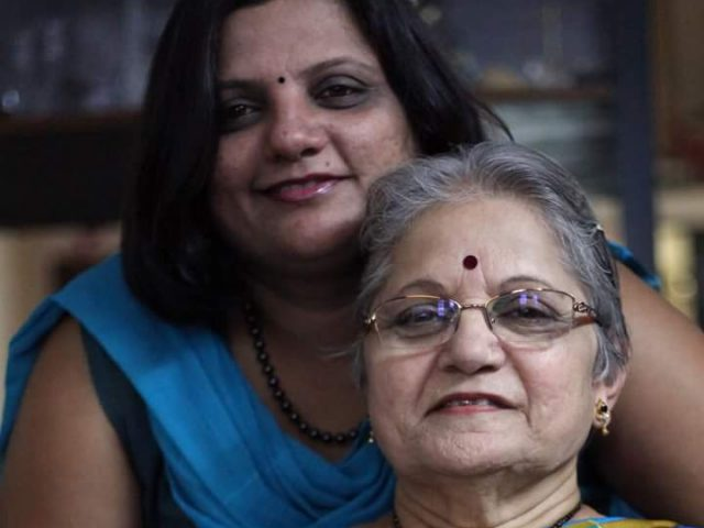 Cancer survivors themselves, mother-daughter pair inspiring others