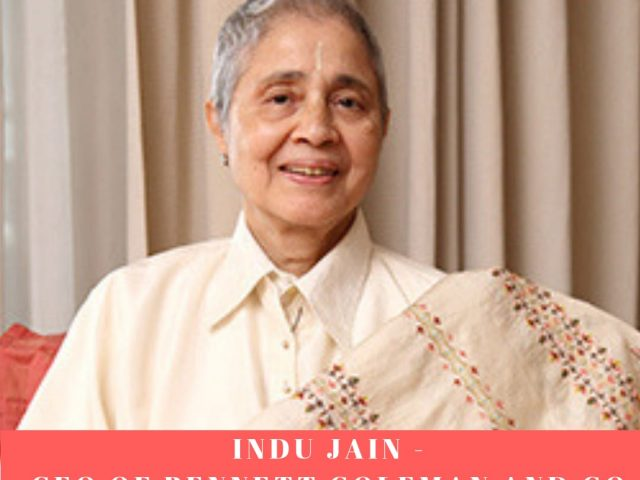 Indu Jain – a woman entrepreneur with a wise mind and purest heart.